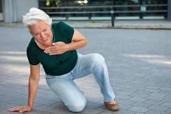 Дефицит воздуха при инфаркте