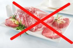 Отказ от мяса во время веганской диеты