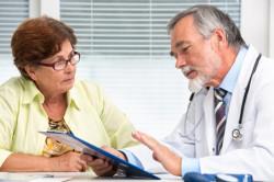 Консультация врача по поводу реабилитации после инсульта