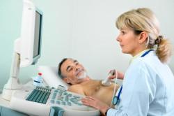 Прохождение эхокардиографии для диагностики кардиосклероза