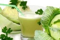Польза свежего сока белокочанной капусты кардиосклерозе