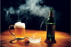 Курение и алкоголь - факторы вызывающие кардиосклероз
