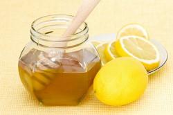 Сок лимона и мед для лечения кардиосклероза