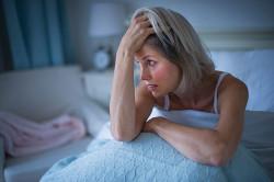 Бессоница - признак инфаркта у женщин