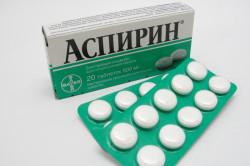 Аспирин для профилактики ишемии